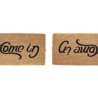 COME IN, GO AWAY DOORMAT | Doormat, Come In, Go Away, Humor | UncommonGoods