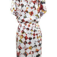Silk Floral Print Paul Smith Dress