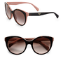Prada - Oversized Cat's-Eye Sunglasses