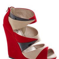 Your Point Being Wedge | Mod Retro Vintage Wedges | ModCloth.com