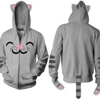 Amazon.com: The Big Bang Theory Girl Cutie Kitty Hoodie: Clothing