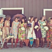 Vintage inspired bridesmaid dresses reserved for by sohomode