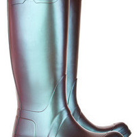 Hunter|Original Tall pearlescent Wellington boots|NET-A-PORTER.COM