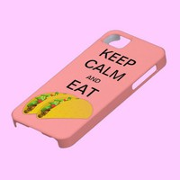 KEEP CALM AND EAT TACOSI CaseMate iPhone 5 Case from Zazzle.com