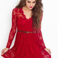 Rosalind Lace Dress in  What's New at Nasty Gal