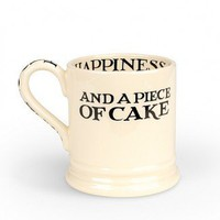 Emma Bridgewater Pottery T&amp;M Happiness .5 Pint Mug
