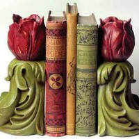 Victorian trading Co. - www.victoriantradingco.com - Holland's Roses Bookends