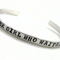 The Girl Who Waited - Doctor Who Bracelet Customizable