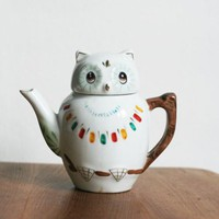 Our Workshop | Owl Teapot
