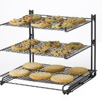 Nifty Non-Stick 3-Tier Cooling Rack: Amazon.com: Kitchen &amp; Dining