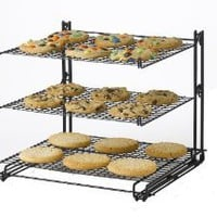 Nifty Non-Stick 3-Tier Cooling Rack: Amazon.com: Kitchen & Dining