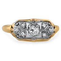 18K Yellow Gold The Moravia Ring