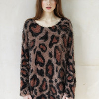 Leopard Jumper - Plümo Ltd