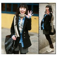 Korea Fashion Exquisite Workmanship Fit Tailored Medium Style Woollen Coat China Wholesale - Sammydress.com