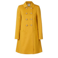 Orla Kiely - Wool Jersey Seamed Coat