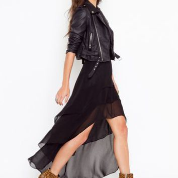 Tiered Tail Skirt