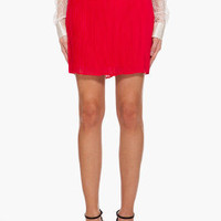 Alice & Olivia Silk Caitlin Mini Skirt for women