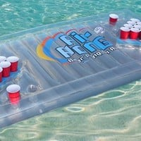 The Air Pong Table - The Portable, Inflatable Beer Pong Table