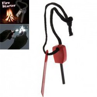 Practical Small Size Expedition Magnesium Fire Starter Survival Gear for Outdoor Activitices