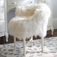 Fur-rific Minnie Stool Slipcover