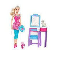 Barbie I Can Be Art Teacher Doll Playset