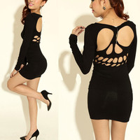 New Womens  Backless  Dr...