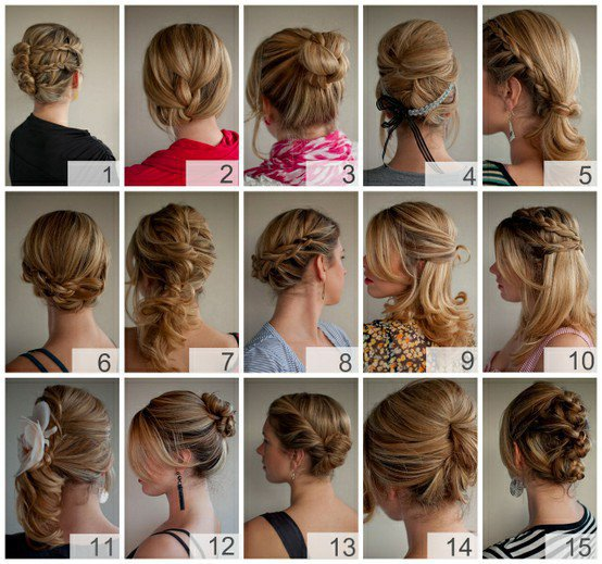 Hair Ideas! / JACKPOT! Full instructions, hints and tips for creating over 30 hairstyles at home.