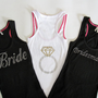 7 Bride Bridesmaid Tank Top Shirts Matron by TheLittleBridalShop