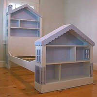 Cottage Dollhouse Bed