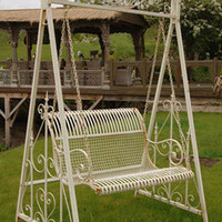 Cream Garden Swing - Sweetpea & Willow London