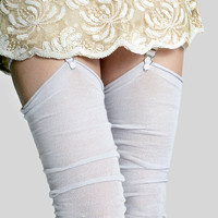 Ice Queen Pastel Thigh Highs