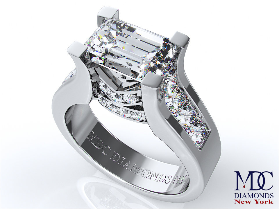 engagement ring modern horizontal from missguided