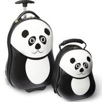 Travel Buddies Luggage Set, Pom Panda