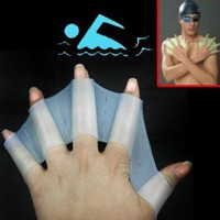 Amazon.com: Silicone Swim Gloves ** available sizes: S, M, L **: Sports & Outdoors