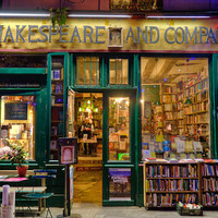 Shakespeare and Company photograph - Paris bookstore photo books Parisian Seine shop store france french - Doing Shakespeare Proud - par000