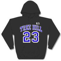ONE Tree Hill Ravens NATHAN SCOTT #23 KS HOODIE