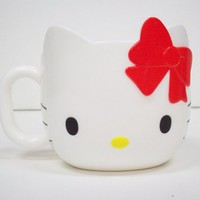 HELLO KITTY FACE MUG -CORN-