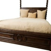 One Kings Lane - Rachel Horn Interiors - Bella Queen Bed