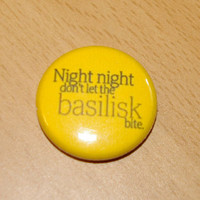 MAGNET Night Night Don't Let the Basilisk Bite 1 by skycouture