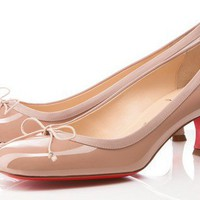 Christian Louboutin Marcia Balla 45mm Pumps [2011120901] - $182.00 : Christian Louboutin Shoes Sale, Enjoy 77% Off On Designer Outlet
