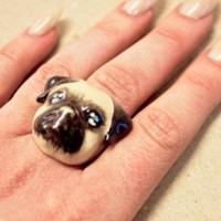 Lazy Oaf | | Mdernaked Pug Ring