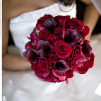 Real Weddings - Danielle & Augustus: A Traditional Wedding in Detroit, MI - The Bridal Bouquet