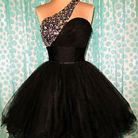 BLACK SWAN PROM COCKTAIL EVENING PAGEANT SHORT PARTY GOWN DRESS L 10/12