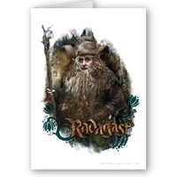 Radagast With Name Greeting Card