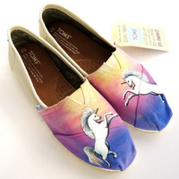 Magical Unicorn TOMS