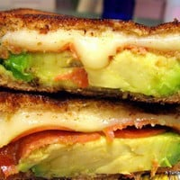Favorite Recipes / Avacado Grilled Cheese