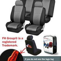 FH-FB060114 Trendy Elegance Car Seat Covers 10 Pcs Full Set Front Airbags Ready