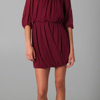 Tibi Draped Dress