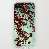 autumn red iPhone Case by ingz | Society6
