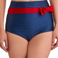 Maritime and Again Swimsuit Bottom | Mod Retro Vintage Bathing Suits | ModCloth.com